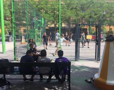 Sidste skoledag – Høvdingebold og Hjem-is